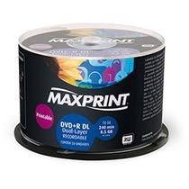 50 Dl + R Maxiprint. Umedisc ( Printable) Para Xbox 8,5gb