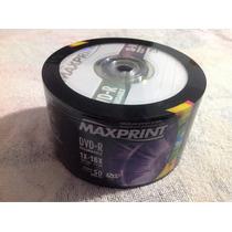 Dvd-r Maxprint 1x-16x 4.7 Gb 50 Unidades