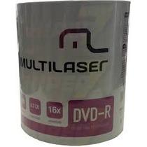 1200 Dvd-r Multilaser Logo ( Frete Gratis)