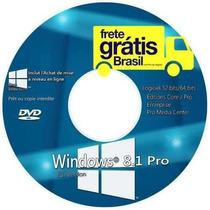Dvd Wind©ows 8.1 Pro 32/64 + Cd Programas + Ativação!