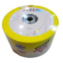 100 Disc Dvdr Hbs Midias 16x C/ Logo Original 4,7gb 120min