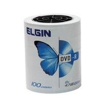 Dvd-r Elgin 8x 4.7gb C/ Logo - 100 Unidades
