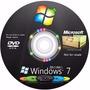 Dvd Wind©ows 7 Completo 32/64 + Cd Programas + Ativação!