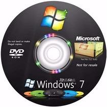 Dvd Wind©ows 7 E 8 Completo 32/64 + Cd Programas + Ativação!