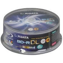 01 Bluray Ridata 6x Printable No Envelope + Frete