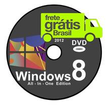 Dvd Wind©ows 8 Completo 32/64 + Cd Programas + Ativação!