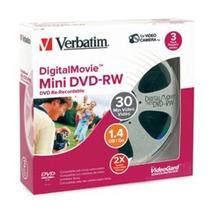Promoção Dvd - Rw 1.4 Gb Verbatim, Regravavel 5 Unidades