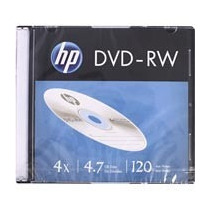 Kit 20 Disco Hp Dvd -rw Regravável 4.7gb 120min 4x