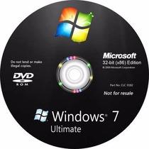 Dvd Wind©ows 7 Ultimate 32/64 + Cd Programas + Ativação!