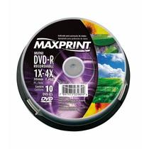 Mini Dvd-r Maxprint 50259-1 1.4gb 30 Min 1x-4x 10 Unidades