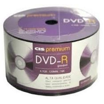 Dvd-r Midia Virgem,printable 50 Unidades Sis Premium 16x