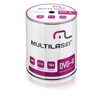 Midia Dvd-r Vel. 16x - 100 Un. Shrink Multilaser - Dv037