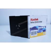 Kit 10 Mini Dvd-rw Kodak 1.4gb - Regravável Com Caixinha