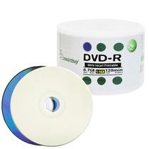 100 Dvd-r Smartbuy 16x Printable