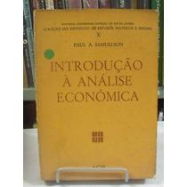 Introdução Á Análise Econômica - Paul A. Samuelson