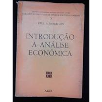 Introdução À Análise Econômica - Paul A. Samuelson