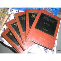 O Capital Karl Marx 5 Volumes Ed. Abril Cultural 1ª Edição