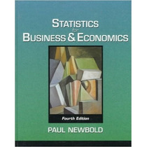 Statistics For Business & Economics Fouth Edition Paul Newb