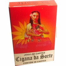 Cigana Da Sorte - Jogo De Cartas Baralho