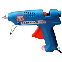 Pistola De Cola Quente 100w Bi-volt Profissional Hikari