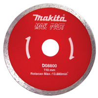 Disco Diamantado Liso 11 Cm - Mak Fast - Makita