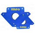 2 Pares Esquadro Magnético Para Solda 30kg - Weld Vision