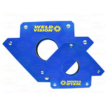 Par 2 Esquadro Magnético Para Solda 30kg Weld Vision