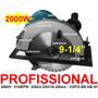 Serra Circular 9.1/4 Profissional 2000w - 220v Com Disco