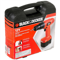 Furadeira Parafusadeira Black And Decker Cd121k 12v Bivolt