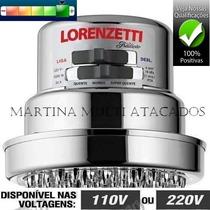 Chuveiro Lorenzetti Tradição 6800w 4temperaturas Cromado 220