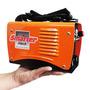 Máquina Inversora Solda Smarter Evo-150 Igbt Pesa Só 2,7 Kg