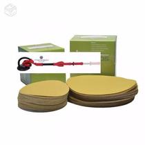 Disco De Lixa Com Velcro 225mm Para Lixadeira De Parede