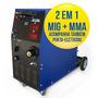 Solda Mig-mag / Eletrodo 250 Amperes Completa Weld Vision