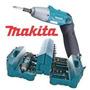 Parafusadeira Makita 6723 + Maleta + Kit 80 Acessórios