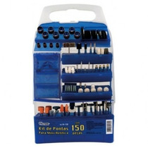 Kit Acessórios Micro Mini Retífica 150 Peças Peças Western