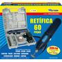 Micro Retífica Sem Fio 60 Peças Bateria Bivolt Western R-60