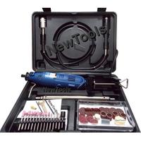 Kit Micro Retífica Eixo Flexível Haste Suporte 40acesso 127v