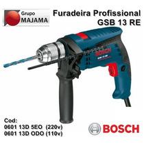Furadeira Impacto Profissional 110v Ou 220v Gsb-13 Re Bosch