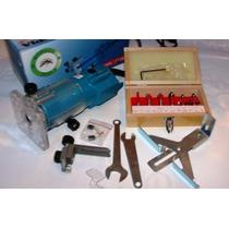 Tupia Manual+12 Fresas-kit Completo - 110 Ou 220 Volts-novas