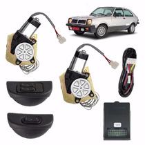 Kit Vidro Eletrico Chevette C/quebra Vento 83 93 Sensorizado