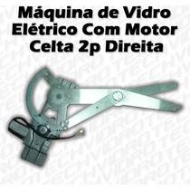 Máquina De Vidro Elétrico Com Motor Para Celta 2 Portas Dir