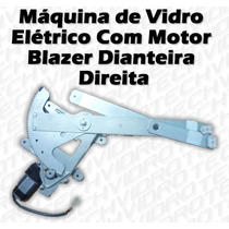Máquina De Vidro Elétrico Com Motor Para Blazer Diant Dir