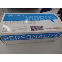 Kit Vidro Elétrico Gm Celta 4p Prisma Completo Original
