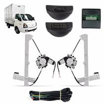 Kit Vidro Eletrico Caminhão Hyundai Hr 2 Portas Sensorizado