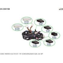 Chicote Vidro Eletrico Dianteiro Gol G4 4p - Diversos