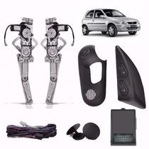 Kit Vidro Eletrico Corsa Wind 2p Sensor Original