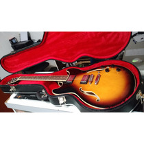 Hard Case Guitarra Semi Acustica Luxo - Novo