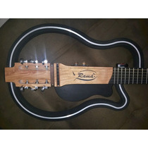 Violão Ramá Vazado String Aço Steel Luthier Silent Guitar