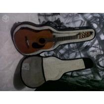 Violão Fender Cg-4e Elétrico Com Case Usado