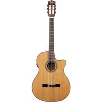 Violão Fender 096 0326 Cn240 Sce Thinline Loja Bolero Music